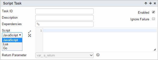 Script Task – Potens io